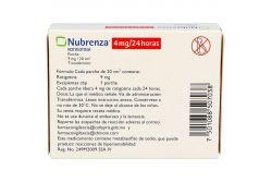 Nubrenza 4 mg /24 Horas Caja Con 14 Parches