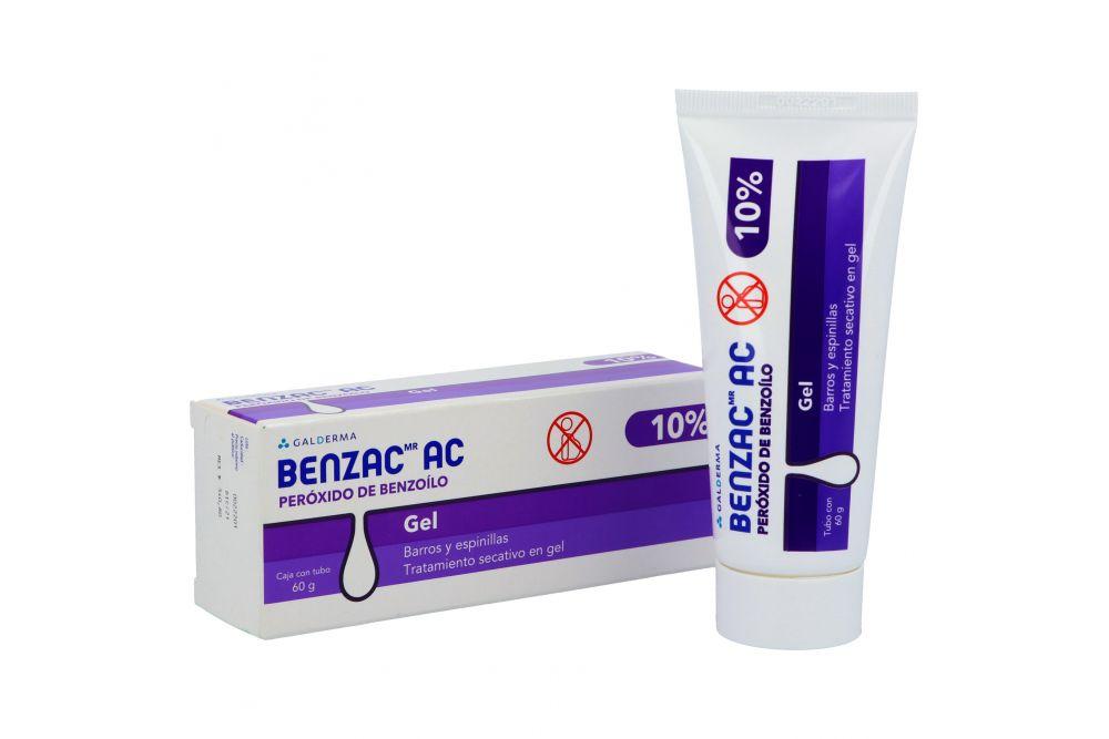 Benzac AC Gel 10% Caja Con Tubo Con 60 g