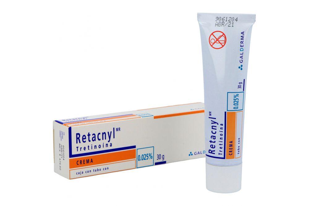 Retacnyl Crema 0.025% Caja Con Tubo Con 30 g