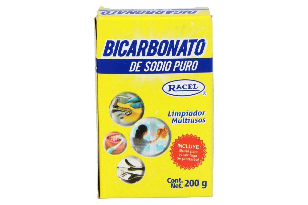 Bicarbonato De Sodio Puro Racel Caja Con 200 g