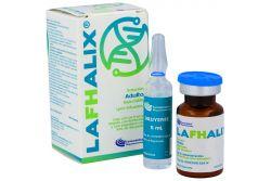Lafhalix Solución Caja Con Frasco Ámpula Y Ampolleta Con 5 mL