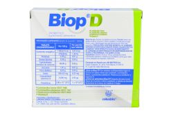 Biop D 500 mg Caja Con 30 Tabletas Orodispersables