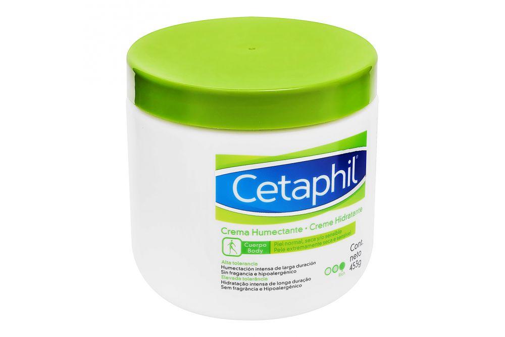 Crema Humectante Cetaphil Tarro Con 453 g