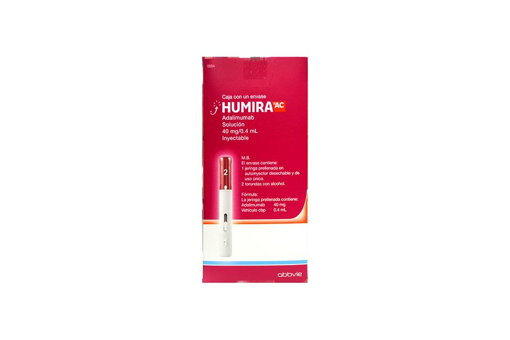 FRM-Humira 40 mg/0.8 mL Caja Con 1 Jeringa Prellenada - RX3