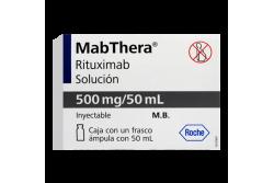 Mabthera 500 mg Caja Con Frasco Ámpula - RX3