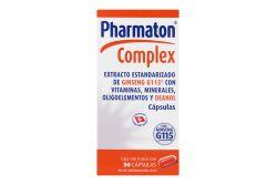 Pharmaton Complex Caja Con Frasco Con 30 Cápsulas