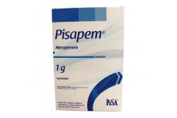 Pisapem Solución Inyectable 1 g Caja Con Frasco Ámpula Y Ampolleta Con 20 mL - RX2