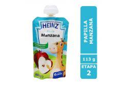 Papilla Heinz Empaque Flexipack Sabor Manzana Con 113 g