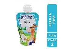 Papilla Heinz Empaque Felxipack Sabor Pera Con 113 g