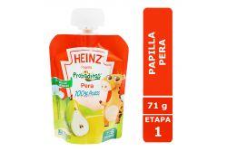 Papilla Heinz Empaque Flexipack Sabor Pera Con 71 g