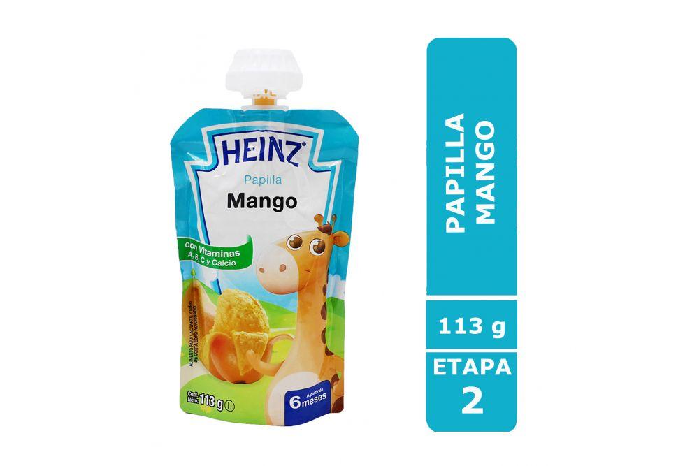 Heinz Empaque Flexipack Sabor Mango Con 113 g