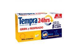 Tempra 24 Horas Caja Con 12 Tabletas