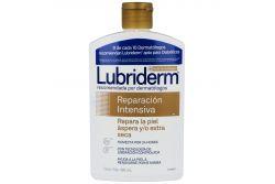 Crema Humectante Corporal Lubriderm Reparación Intensiva Botella Con 480 mL
