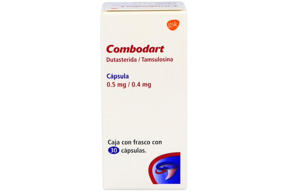 Combodart 0.5 mg/0.4 mg Caja Con Frasco Con 30 Cápsulas