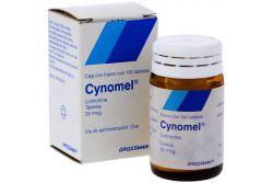Cynomel 25 Mcg Caja Con Frasco Con 100 Tabletas