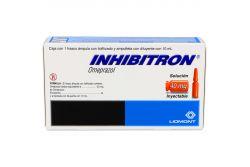 Inhibitron 40 mg Caja Con 1 Frasco Ámpula Con Liofilizado y Ampolleta Con 10 mL