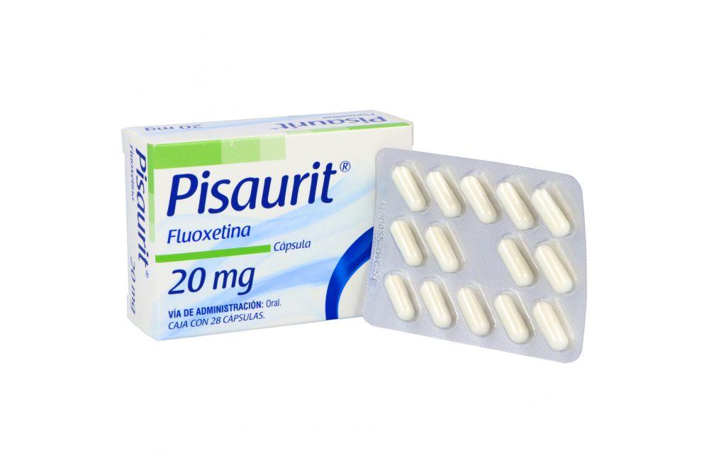 Pisaurit 20 mg Caja Con 28 Cápsulas