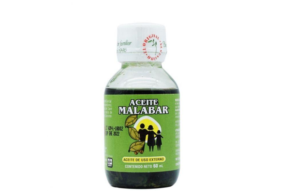 Aceite Malabar Frasco Con 60 mL