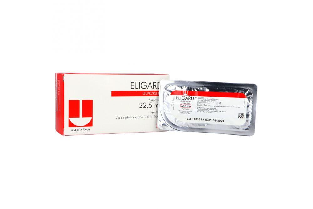Eligard 22.5 mg Suspensión Inyectable Caja Con 2 Jeringas Prellenadas - RX3