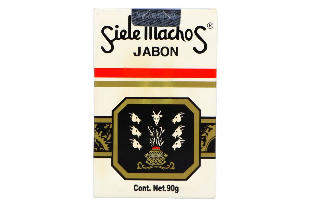 Jabón Siete Machos Barra Con 90 g