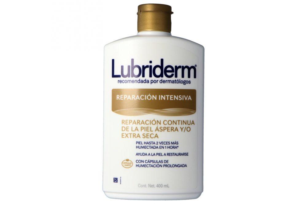 Crema Lubriderm Reparación Intensiva Piel Seca Botella Con 400 mL