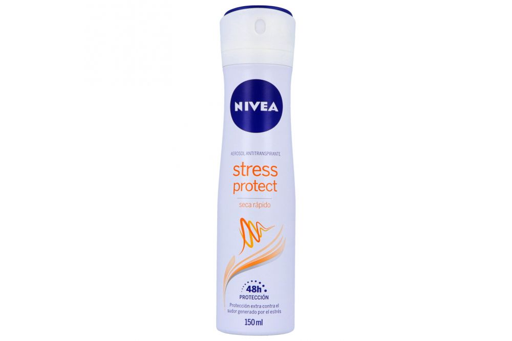 Antitranspirante Nivea Stress Protect En Aerosol Envase Con 150 mL