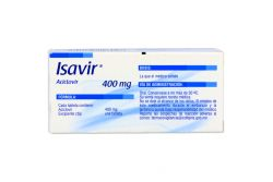 Isavir 400 mg Caja Con 35 Tabletas