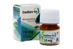 Cediav-In 10 mg Caja Con Frasco Con 28 Tabletas