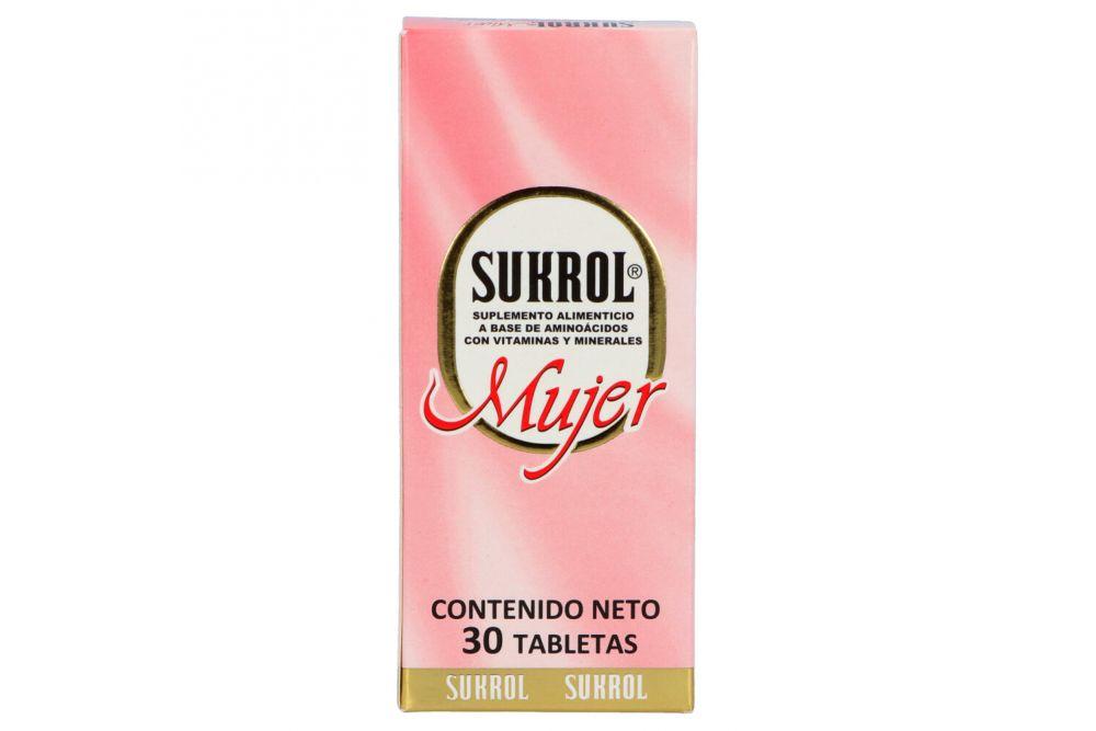 Sukrol Mujer Caja Con 30 Tabletas