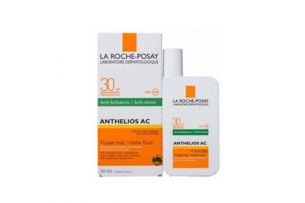 Anthelios AC Protector Solar Para Rostro FPS 30 Caja Con Botella Con 50 mL