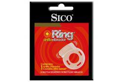 Sico Ring Caja Con Un Anillo Vibrador Y Un Condón Ultra Sense