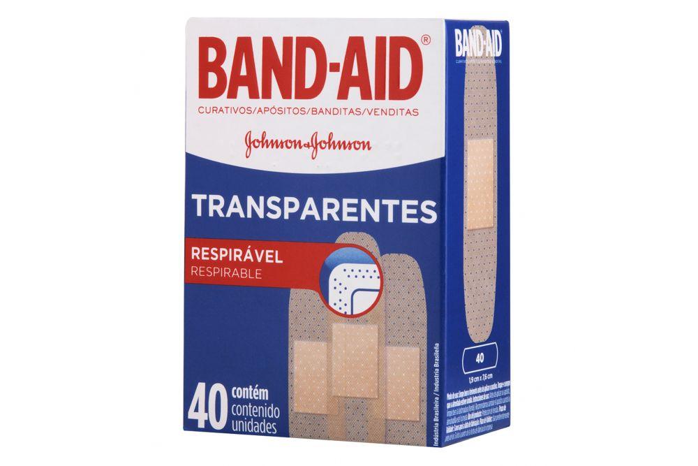 Band-Aid Transparentes C 40
