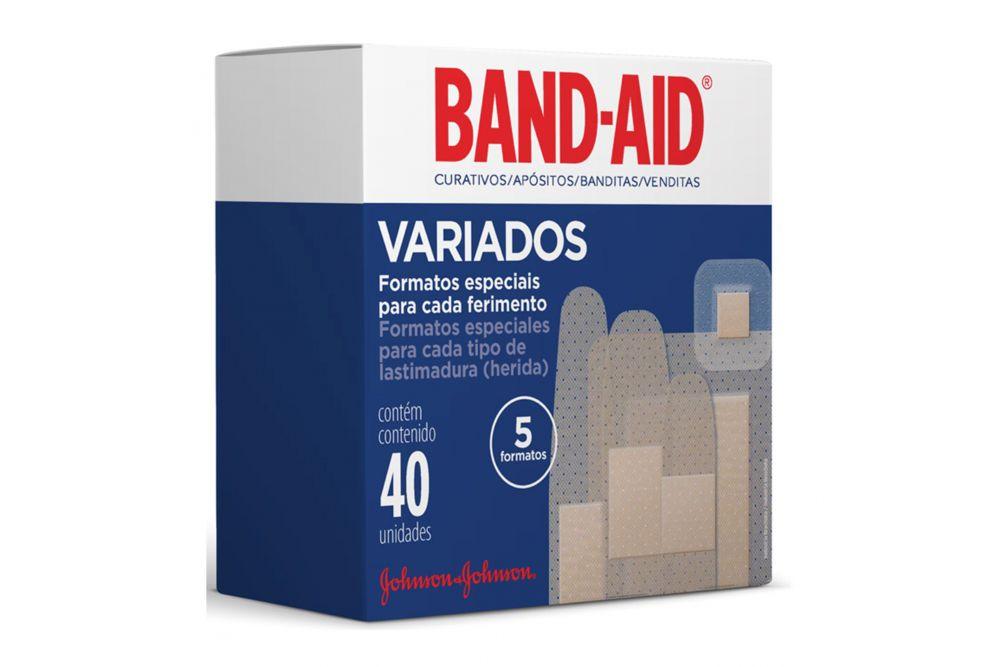 Band-Aid Variados 40 piezas
