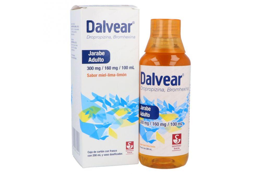 Dalvear 300mg/160mg/100mL Frasco Con 200mL
