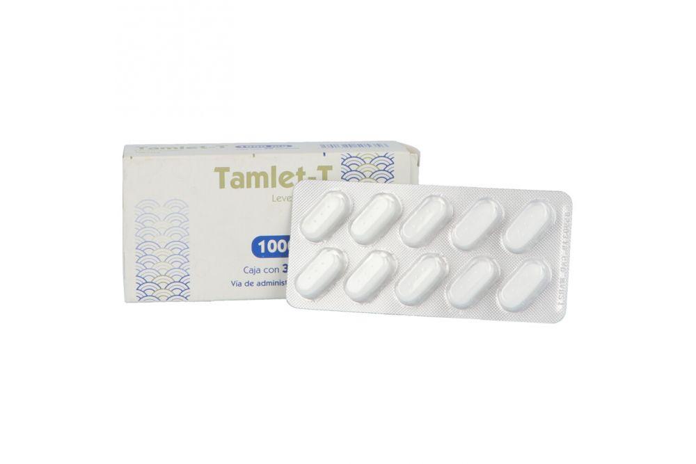 Tamlet-T 1000 mg Caja Con 30 Tabletas