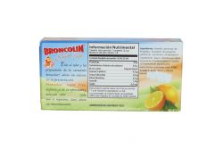 Broncolin Sugar Free Caja Con 35 g Sabor Naranja