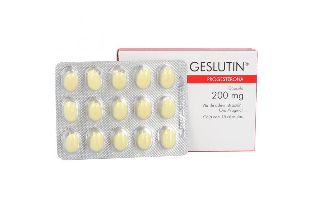 Geslutin 200 mg Caja Con 15 Perlas