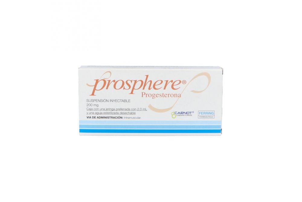 Prosphere 200 mg Caja Con Jeringa Prellenada Con 2 mL
