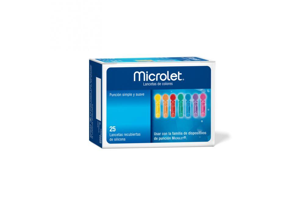 MICROLET LANCETAS C/25