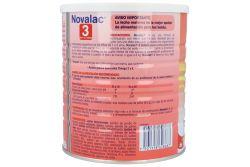 Novalac 3 Sabor Vainilla 1-3 años leche en polvo