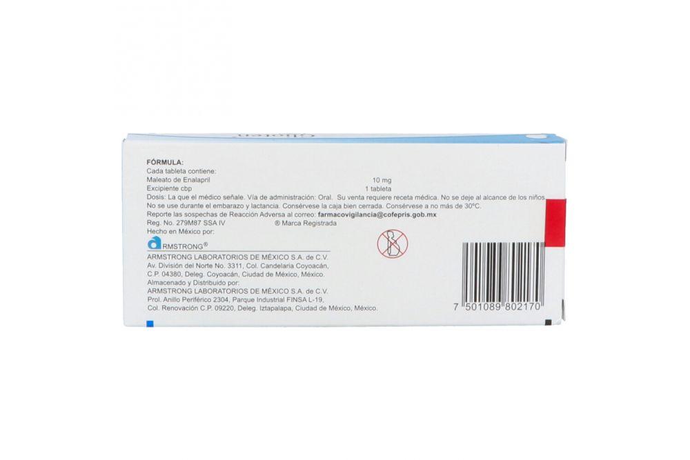 Glioten 10 mg hipertensión arterial