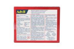 Advil Max 400 mg alivio de los dolores moderados a fuertes