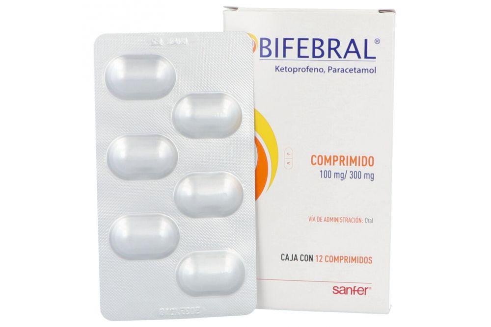 Bifebral 100 mg / 300 g Caja Con 12 Comprimidos