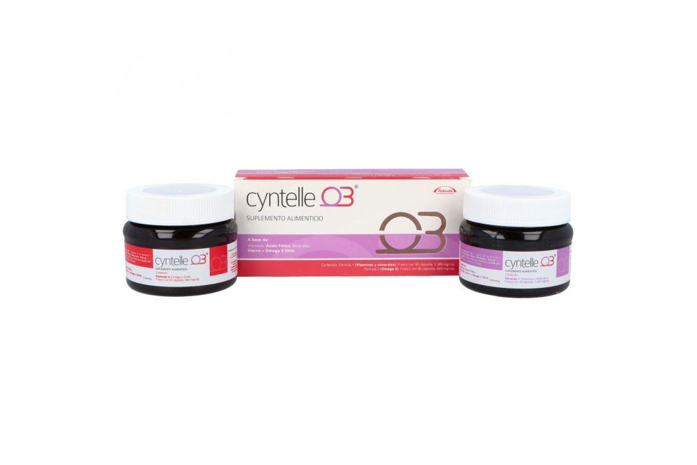 Cyntelle 03 Caja Con 2 Frascos De 30 Cápsulas
