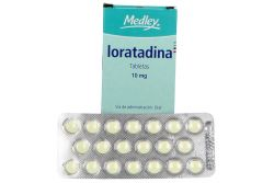 Loratadina 10 mg Caja con 20 Tabletas