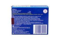 Maxoral 5mg infección de garganta