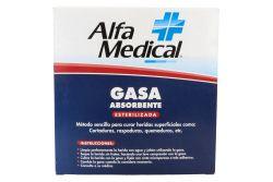 Gasa Absorbente Esterilizada Alfa curar heridas