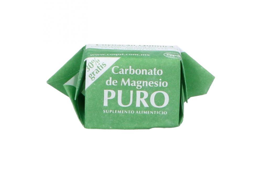 Carbonato De Magnesio Puro Empaque Con 1 Terrón