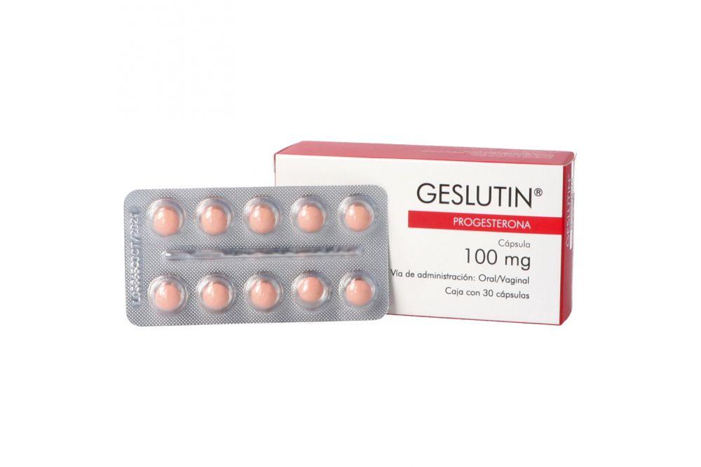 Geslutin 100 mg Caja Con 30 Perlas