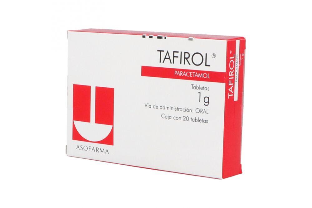 Tafirol 1g Caja Con 20 Tabletas